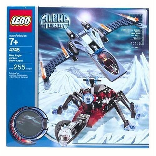レゴLEGO Stories & Themes Alpha Team: 青 Eagle vs. Snow Crawler (4745)