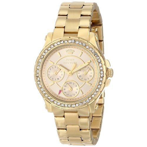 (お得な特別割引価格) Juicy Couture Women's 1901105 Pedigree Multi-Eye Crystal Bezel Watch, 2020 3ec75086