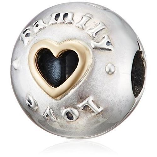 【超ポイントバック祭】 Pandora Family & Love Silver Clip Charm 792110, カニタマチ 297f43f6