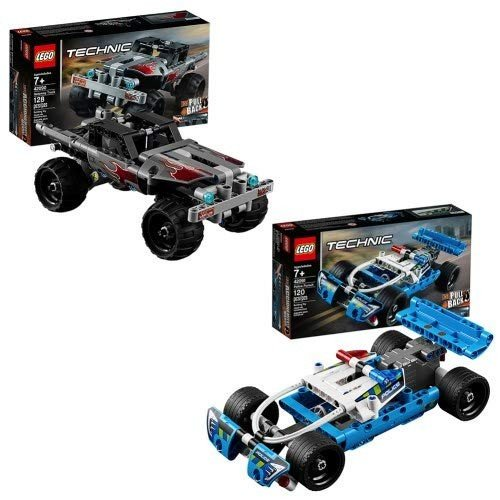 レゴLEGO Technic Police Pursuit & Getaway Truck