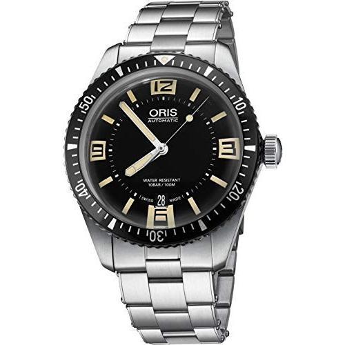 春夏新作モデル Oris Divers Black Dial Stainless Stainless Steel Men's Divers Watch Watch 73377074064MB, カトウグン:4286b2a4 --- airmodconsu.dominiotemporario.com