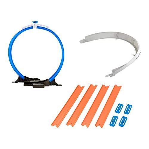 ホットウィールHot Wheels Workshop Track Builder Loop, Curve, Straight Track Starter Kit (3 Pack)