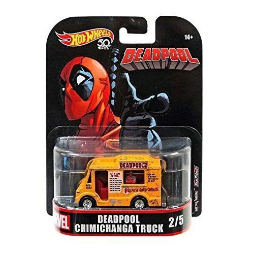 1:64 Scale Hot Wheels Deadpool Food Truck, 1:64 Scale