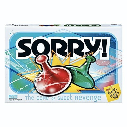 ボードゲームSorry Board Game, Game Night, Ages 6 and up (Amazon Exclusive)