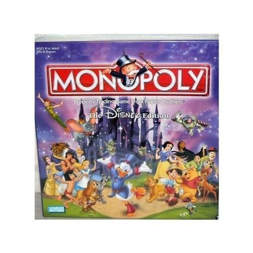 ボードゲームThe Disney Edition Monopoly Board Game 2001