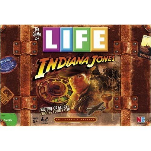 ボードゲームHasbro Game of Life Indiana Jones