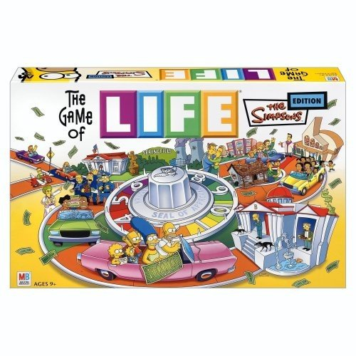 ボードゲームHasbro The Game of Life - Simpsons Edition