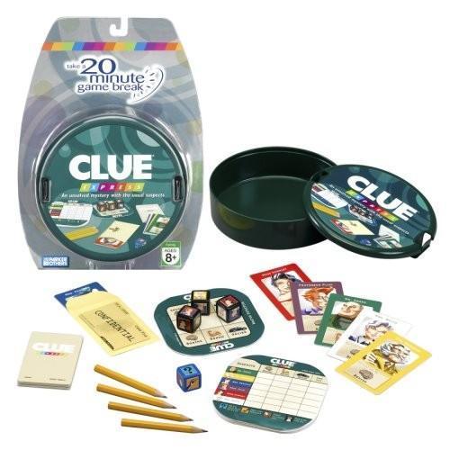 Hasbro Clue Express
