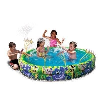 プールBanzai Spray N Splash Jungle Fun Pool
