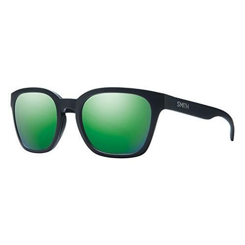 スミスSmith Optics Founder Slim - Matte 黒/緑 Sol-x Mirror Sunglasses