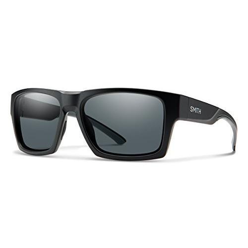 スミスSmith Outlier XL 2 Carbonic Polarized Sunglasses, Matte 黒
