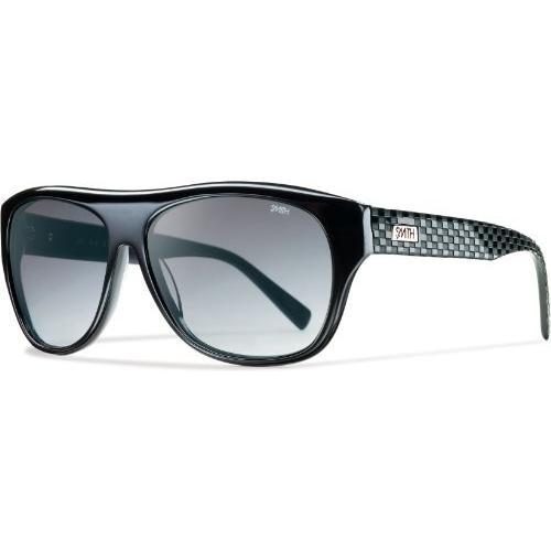 スミスSmith Optics Roundhouse Sunglass, 黒 / Gray Gradient Cr39