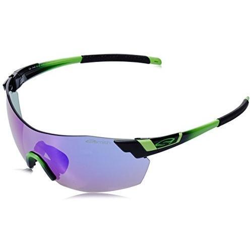 スミスSmith Optics Pivlock V2 Max Sunglass with 紫の Sol-X, Ignitor, Clear Carbonic TLT Lenses, Reactor 緑