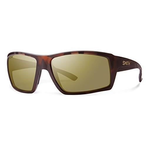 スミスSmith Challis Chroma Pop Polarized Sunglasses, Matte Tortoise