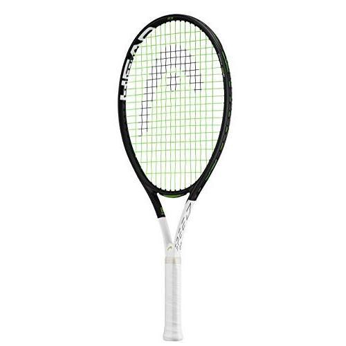 One Size HEAD IG Speed Kids Tennis Racquet - Beginners Pre-Strung Head Light Balance Jr Racket, 25