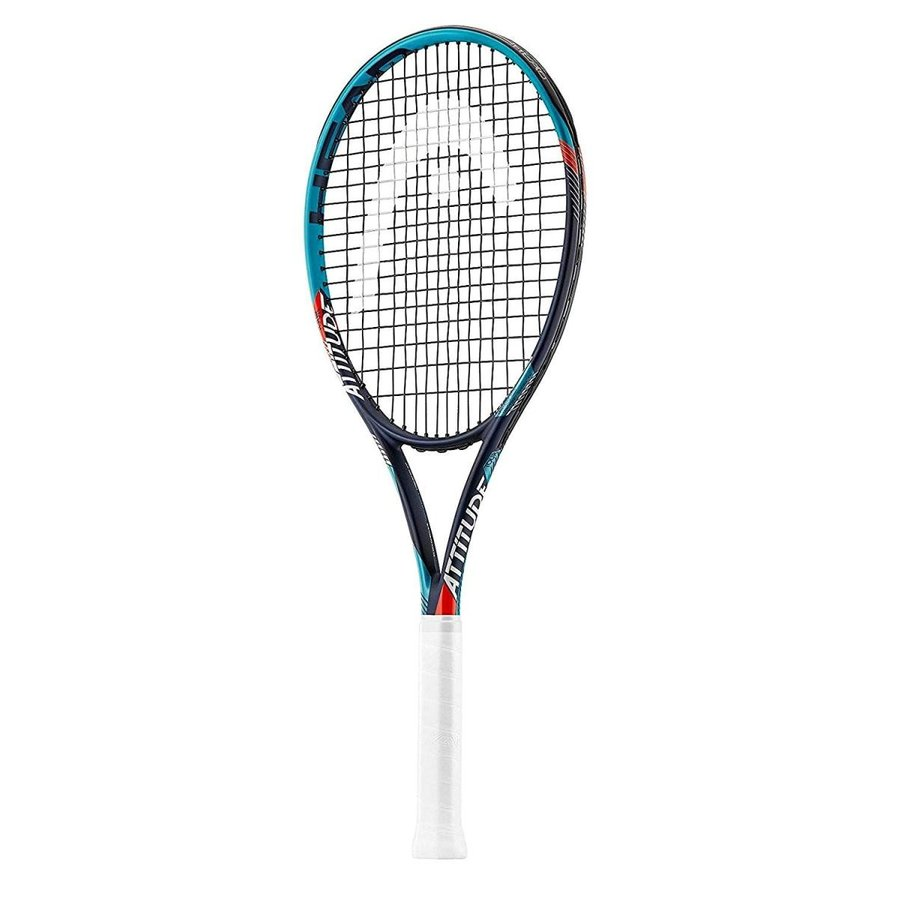 HEAD MX Attitude Tour Graphite Tennis Racquet (Pre-Strung) (4 3/8)