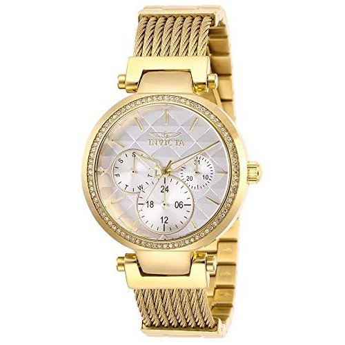 当季大流行 Invicta Watch Women's Angel Quartz Stainless-Steel Strap, 28917) Gold, 18 18 Casual Watch (Model: 28917), 上天草市:bbbeba23 --- airmodconsu.dominiotemporario.com