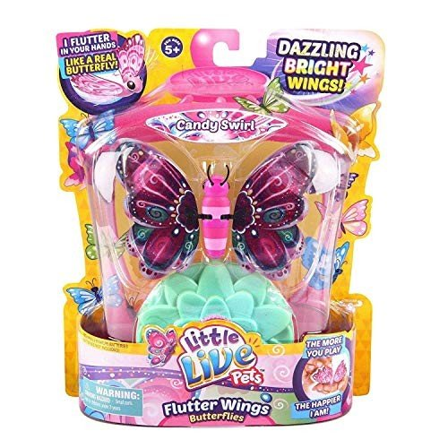 Little Live Pets Butterflies - Series 3 - Candy Swirl (Dispatched From UK)