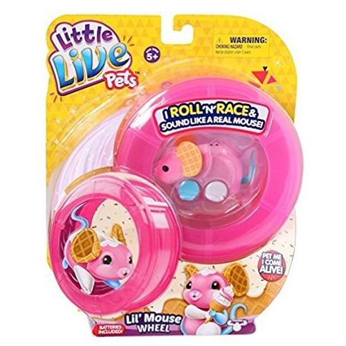 リトルライブペッツLittle Live Pets Lil' Mouse Wheel - Waffles