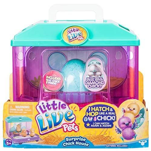 2.56'' x 2.56'' x 2.83'' Little Live Pets S2 Surprise Chick House