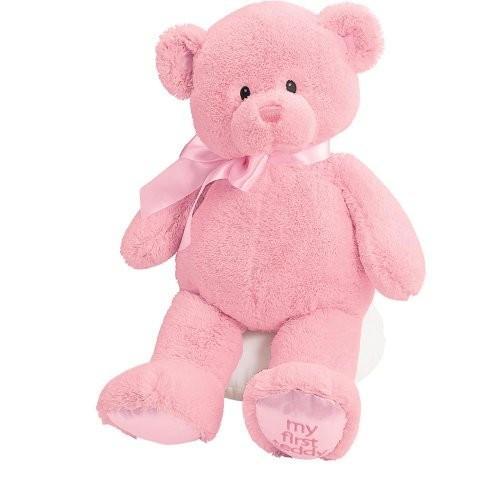 Gund Baby My First Teddy-Large-ピンク