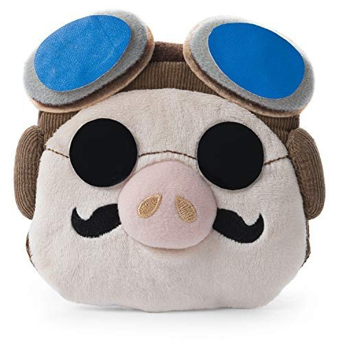 GUND Studio Ghibli Porco Rosso Coin Purse Plush, 5