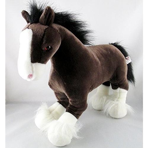 ガンドGund Clydesdale Horse - Clyde - 褐色 & 白い 15