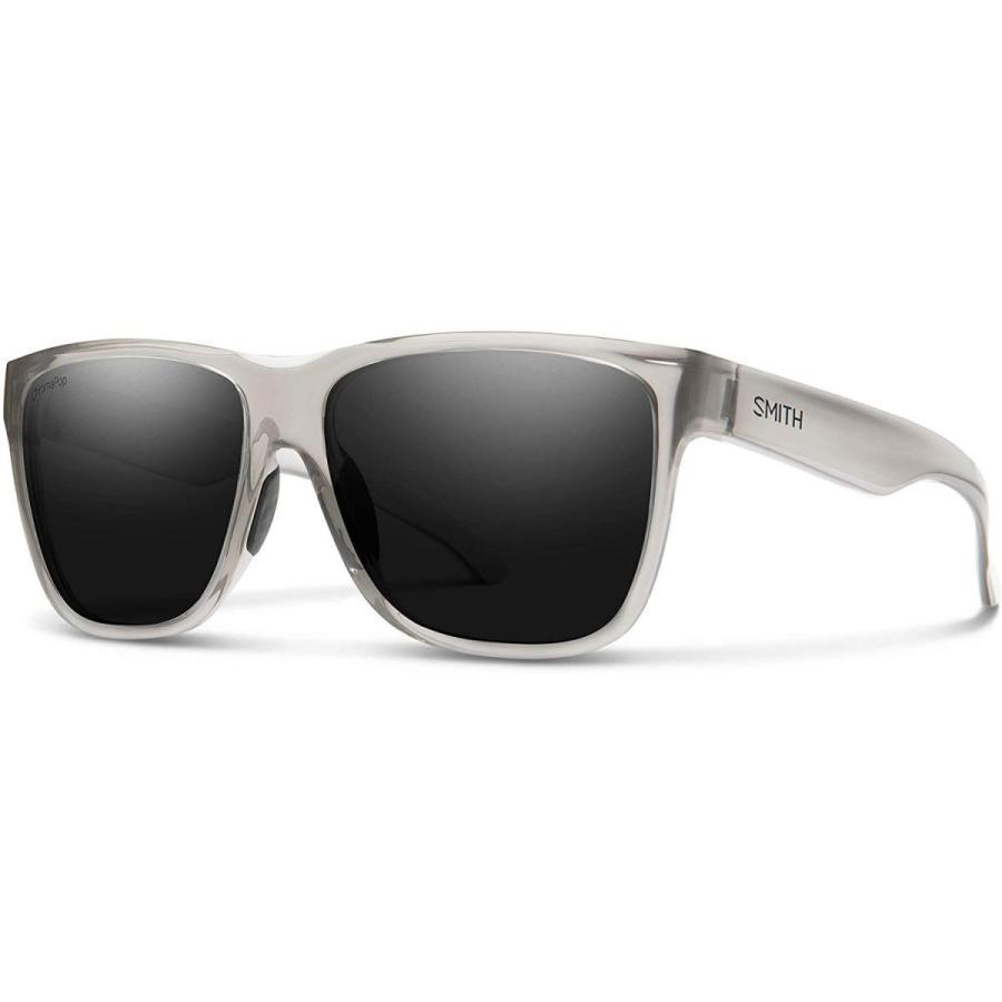 One Size Smith Lowdown XL 2 Chromapop Polarized Sunglasses, Cloud, Chromapop Polarized 黒