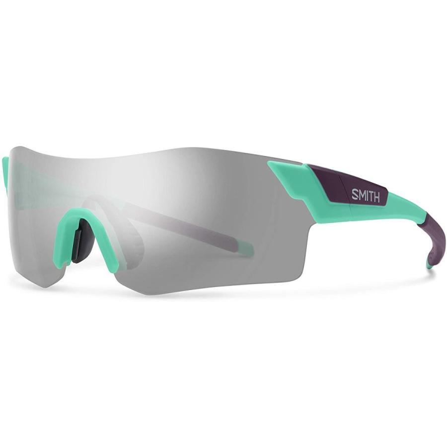 Smith Optics Pivlock Arena Chromapop Sunglasses, Matte Opal, Platinum