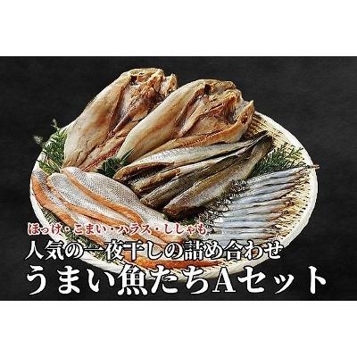 うまい魚たち 高額売筋 A セット 北海道産ホッケ ハラス コマイ ギフト ししゃも 買収 F139 景品 プレゼント 贈答