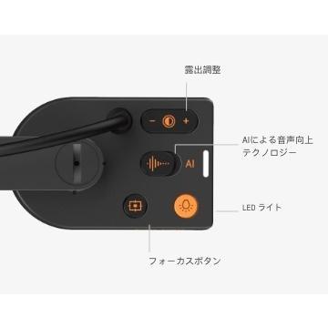 V4K PRO 超高解像度USB書画カメラ AI音声向上マイク搭載|abicojapan|04