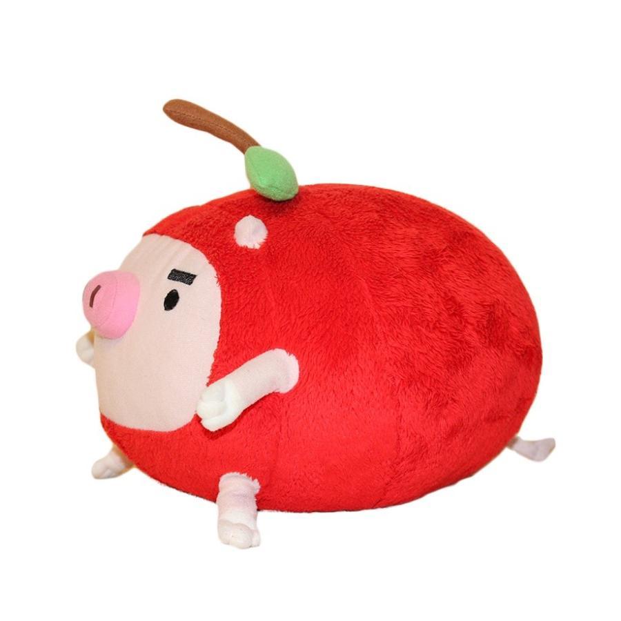 りんご丸 ぬいぐるみ(大) 【abn長野朝日放送公式キャラクター】 ゆるキャラ|abncollection|03