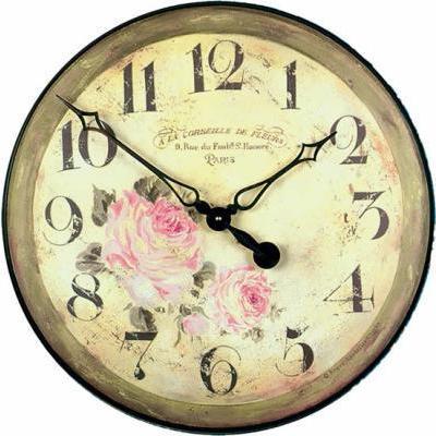 掛け時計 ロジャー・ラッセル(Roger Lascelles )イギリス製  GAL-FLORIST