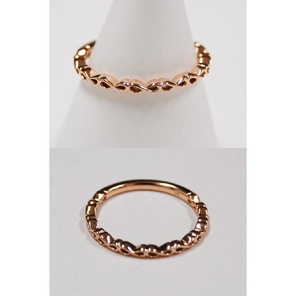 【保証書付】 K10 ピンクゴールド リング 指輪 アクセサリー Cure Rosa アンティーク調 誕生日プレゼント 贈り物 ギフト BOX付, ショップザビューネット 149ee0a1