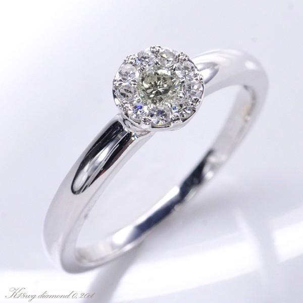 【通販 人気】 K18WG ダイヤモンド0.20ct 極小爪セッティング リング, ウエノソン c0debf67