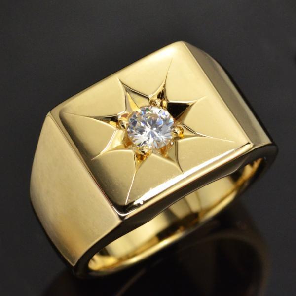 一流の品質 印台 リング 指輪 K18 指輪 リング 印台 ダイヤモンド 日本製, 牛乳ヨーグルトの伊都物語:640cedbb --- airmodconsu.dominiotemporario.com