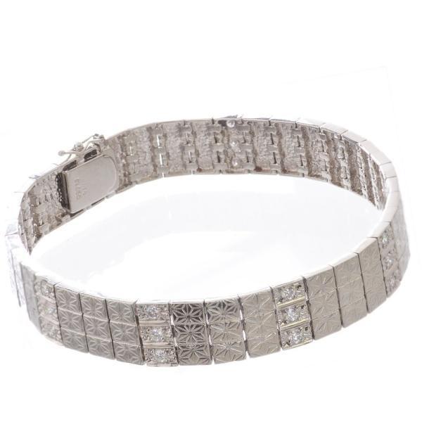 品質が完璧 メンズ 48g プラチナ ブレスレット ダイヤモンド プラチナ Pt850 Pt850 48g, ヨシノガワシ:8c3b7eb0 --- airmodconsu.dominiotemporario.com