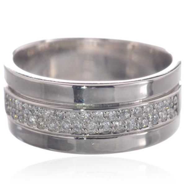大特価!! メンズリング プラチナ ダイヤモンド 指輪 Pt900 男性用 日本製, カスヤグン 97444f60