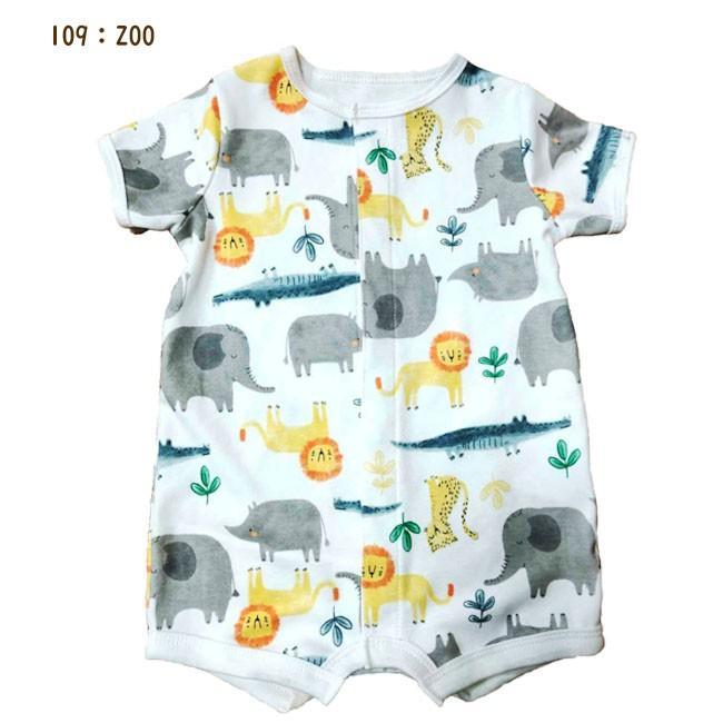 送料無料 カーターズ Carter's 半袖 ロンパース カバーオール ベビー服 男の子 6m 9m 12m 18m かわいい 新生児 乳幼児 カバーオール acefad|acefad|10