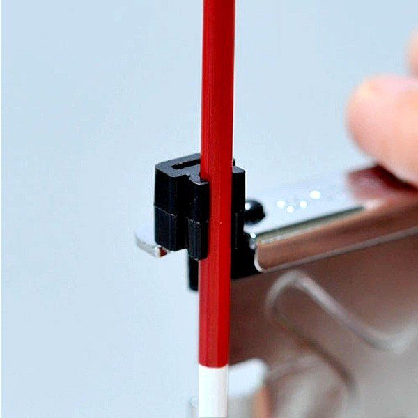ハイビスカス ロッド・ピンポールホルダー (2個入) RPH-K2B ミリ目付ロッド/66ロッド用オプション 水糸も張れる|acetech|03