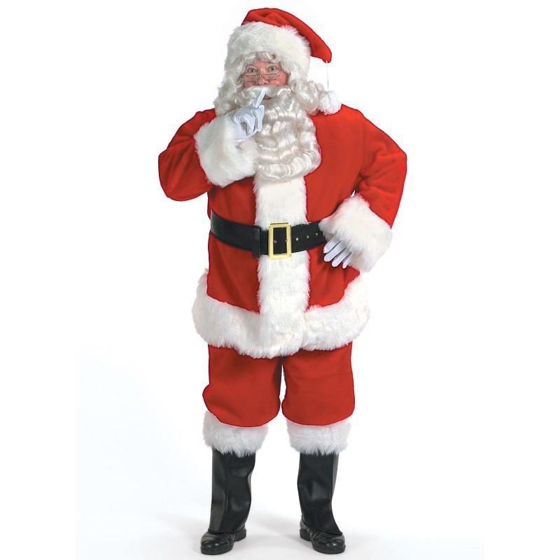 サンタ コスプレ サンタクロース 衣装 コスチューム プロフェッショナル・サンタのスーツ