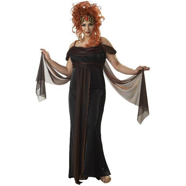 ギリシャ ギリシア 古代 神話メドゥーサ 神話のセイレーン 大人用プラス コスチューム大きいサイズ神話 パルテノ メデューサ