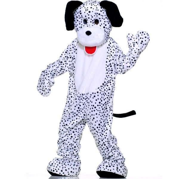 ダルメシアン 犬 着ぐるみ きぐるみ キャラクター エコノミーマスコット 大人用コスチューム パジャマ 年賀状 戌年