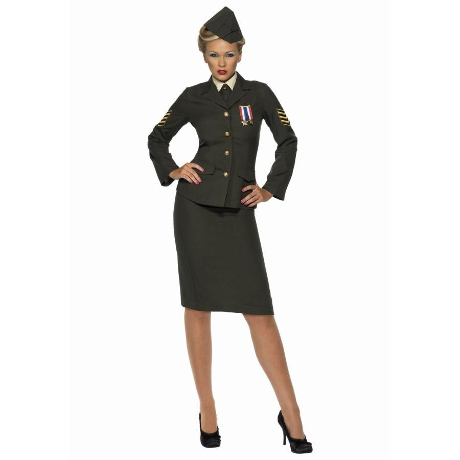 ミリタリー ユニフォーム 大人 女性 レディース コスプレ コスチューム 軍 司令官 制服 衣装