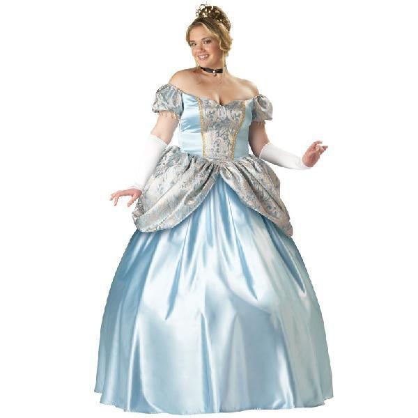 シンデレラ コスプレ ディズニー プリンセス 衣装 大人用 大きいサイズ