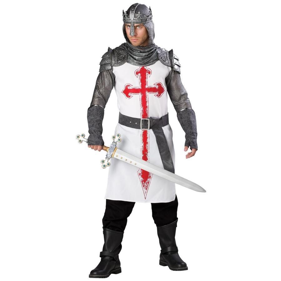 十字軍 騎士 兵士 中世 コスプレ コスチューム 仮装 衣装 男性 メンズ