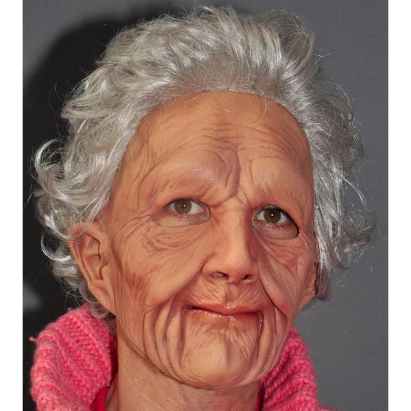 マスク グッズ おばあさん 変装 コスプレ 老婆マスク 大人用ハロウィン 雑貨