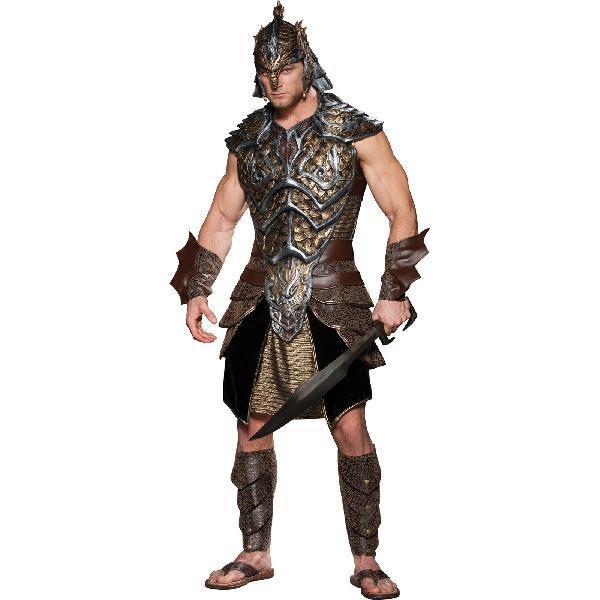 プレゼント 中世 騎士 コスプレ 衣装 ドラゴンロード 戦士コスチューム 大人用
