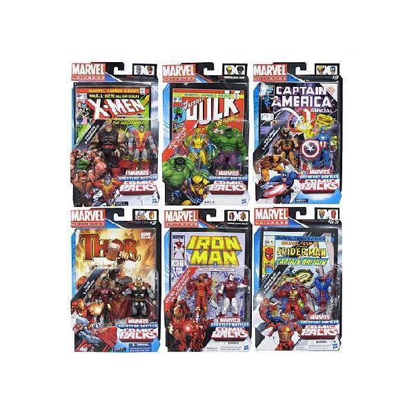 マーベル ユニバース フィギュア コミック 8セット