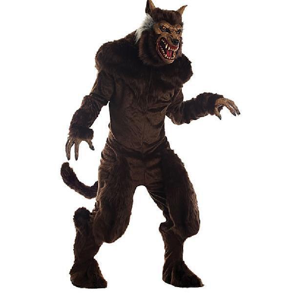 狼男 コスチューム ハロウィン コスプレ 仮装 衣装 動物 着ぐるみ ホラー 怪物 人狼 オオカミ